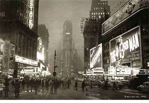 times square 1949 by jenkistler2000.