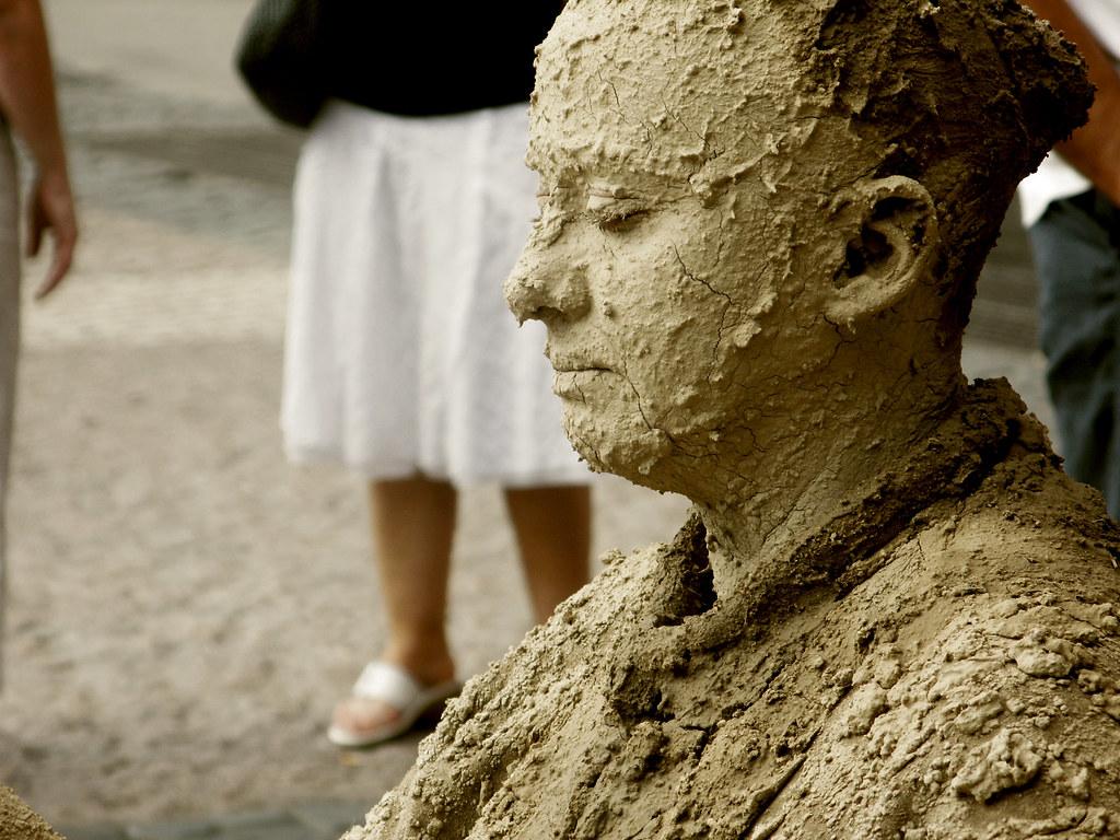 mujer de arena