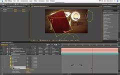 After Effects Progress Screengrab (DVD Menu Project)