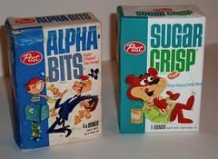 Alpha Bits & Sugar Crisp