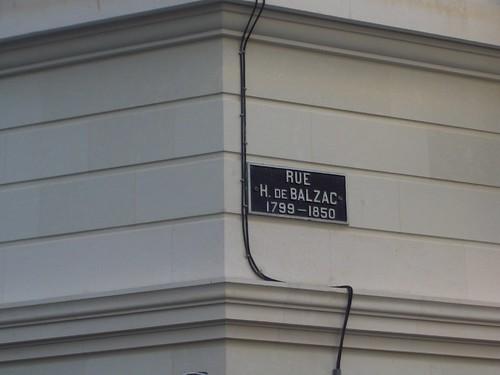Rue H. de Balzac