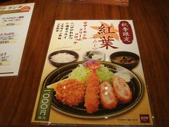 Lunch at Tonkatsu Wako