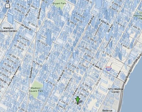 Google Terrain View