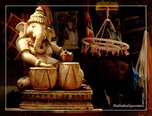 Mahabalipuram - Pillayar