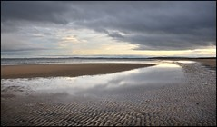Reflections of Grey (North Light) Tags: beach coast scotland highlands sutherland dornoch weatherphotography