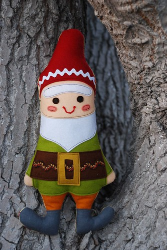 mr. gnome outside