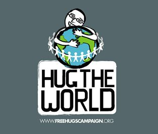 Hug The World Logos