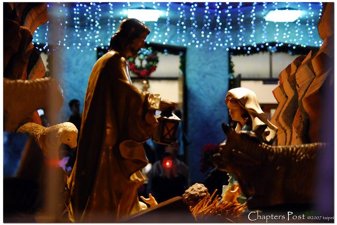 聖家堂:聖誕燈飾