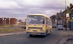 Halls Coaches, Rock End, Biddulph, AEC Reliance ABO 145B (Renown) Tags: bus coach stokeontrent harrington goldenhill aecreliance biddulphmoor westernwelsh abo145b