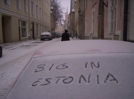 Big In Estonia