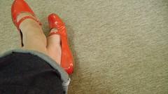 Ps VermelHos (patricia_lima74) Tags: blue red azul rouge floor vermelho feets ps cho ameliepoulain tapete carpete