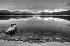 frozen rocks mcdonald (Designer Scott) Tags: landscape montana glaciernationalpark apgar lakemcdonald flickrchallengegroup flickrchallengewinner