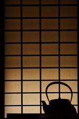Kettle (mrhayata) Tags: park silhouette japan museum geotagged tokyo blog kettle 日本 東京 shoji koganei やかん 東京都 江戸東京たてもの園 障子 mrhayata 小金井市 geo:lat=357162667 geo:lon=1395116067