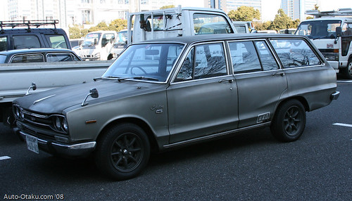 Nissan Skyline GC10 van