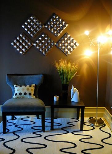 modern loft home decorating