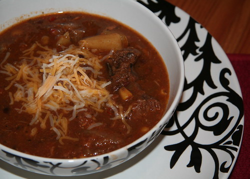 Southwest Steak & Potato Soup
