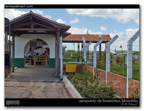 fotos: aeropuerto de Barreirinhas