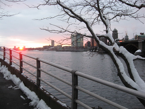 Sunset, Charles River 2