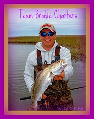 Wade Fishing For Speckled Trout - Van Clark With Beautiful Speckled Trout Caught In The Louisiana Marsh - Photo By Capt. Robert L. Brodie of TEAM BRODIE CHARTERS (teambrodiecharters) Tags: fish fishing fisherman marsh trout wading speck angler speckledtrout charterboat bigtrout guideservice spottedseatrout wadefishing louisianamarsh beautifulfish vanclark marshfishing teambrodiecharters happyangler