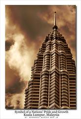 Bronze Series#1 (visioNERI) Tags: holiday tower architecture bronze petronas malaysia kl cesarpelli d80 flickrsbest superaplus aplusphoto superbmasterpiece goldstaraward burcerneri