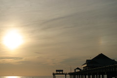 Another view of the sundog (bgallay) Tags: sunset florida clearwaterbeach sundog