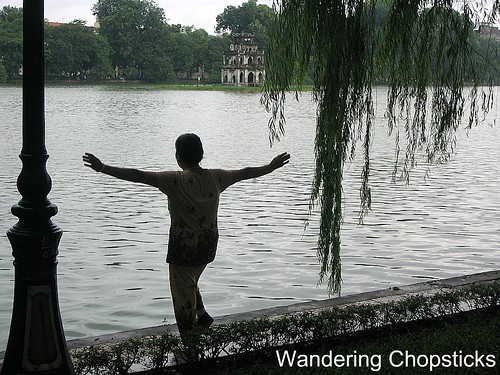 Ho Hoan Kiem (Returned Sword Lake) - Hanoi - Vietnam 4