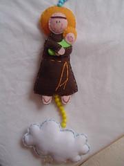 Santo Antnio (pimpim salabim) Tags: artesanato feltro sant santo antnio handamade