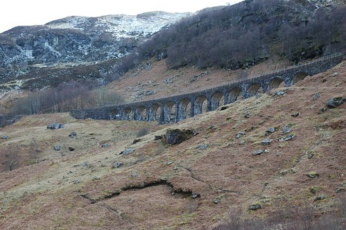 Glen Ogle old railway line Viaduct