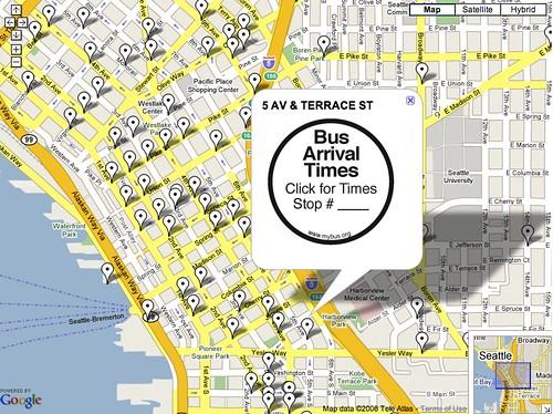 MyBus Google Map