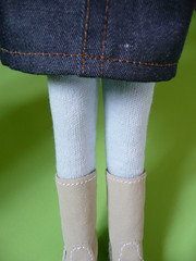 Baby blue tights (Bunbunboutique) Tags: uk blue light baby stockings socks boots tights skirt jeans boutique blythe lime dolly bun uggs dollclothing greendoll bunbunboutique