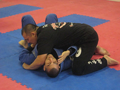 Sotiropoulos & Inoue demonstrate an escape from side control