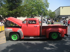 Maker Faire Bay Area 2008 (wirednerd) Tags: ford make truck magazine 1956 sanmateo makerfaire makerfairebayarea makerfaire2008 makerfairebayarea2008