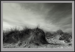 Dunes 3 (Christian Frlich) Tags: sky espaa verde green beach clouds landscape island spain sand nikon view dunes playa paisaje arena nubes vista mallorca isla dun
