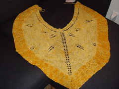 Sun flower shawl