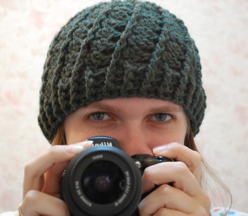 Green Swirl Hat