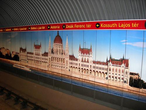 Subway art, Budapest 1