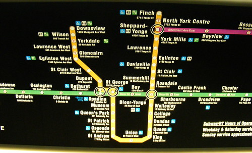 TTC subway map update: Back from the drawing board