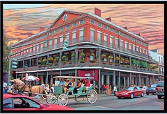 New Orleans LA ~ Pontalba Buildings ~ Historic French Quarter (Onasill ~ Bill Badzo) Tags: new orleans la louisiana pontalba buildings cast iron balcony antebelum onasill nrhp historic french quarter architecture landmark