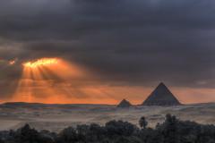 Giza Dusk