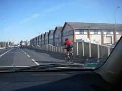 Ciclista a treinar