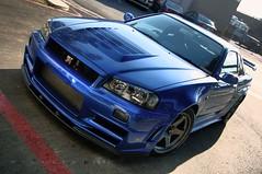 [フリー画像] [自動車] [スポーツカー] [日産/Nissan] [日産 スカイライン] [Nissan Skyline GT-R R34] [日本車]     [フリー素材]