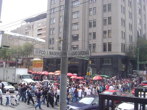 Trafico de personas Mexico DF