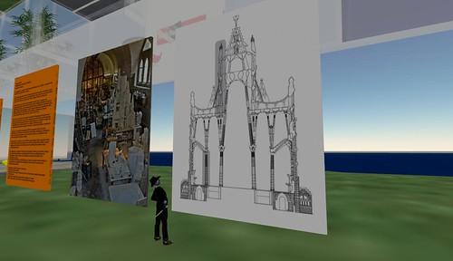 Sagrada Familia, by Antoni Gaudi: Virtual Video & Photo Exhibition on arcspace Island