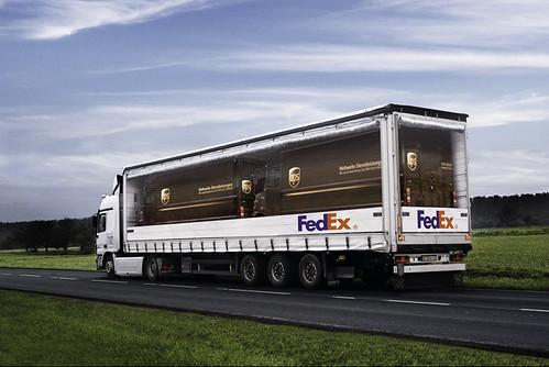UPS in a Fedex