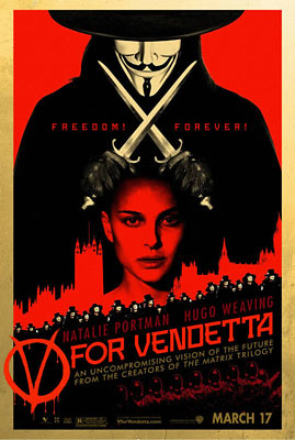 V for Vendetta (2006) freedom poster 3