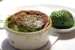 green tea souffle