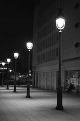 Le rêve d'Herbert, ... n°9 (louistib) Tags: light blackandwhite bw paris lamp night lights noiretblanc streetlamp lumière nb herbert nuit lampadaire streelamp réverbère rêveurherbert dreamerherbert