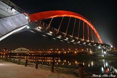 (*KUO CHUAN) Tags: bridge night nikon taiwan tokina taipei    d80 t124 1214mm