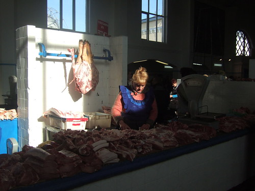 Meat at Privoz Market, Odessa