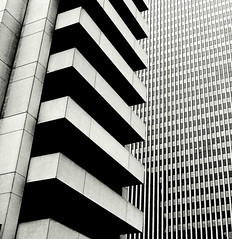 embarcadero center (telmo32) Tags: sf sanfrancisco california city urban blackandwhite bw monochrome architecture skyscraper creativecommons sfbay sanfransisco embarcaderocenter mywinners ultimateshot theperfectphotographer top20gray telmo32